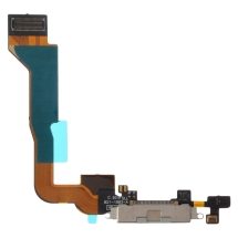 Flex Cable (Charge Port Assembly) for Apple iPhone 4 (CDMA) (White) (Closeout)