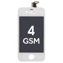 LCD, Digitizer & Frame Assembly for Apple iPhone 4 (GSM) (White)