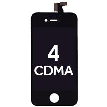 LCD, Digitizer & Frame Assembly for Apple iPhone 4 (CDMA) (Black)