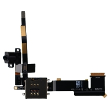 Flex Cable (Headphone Jack) for Apple iPad 2 (Cellular) (Black) (Closeout)