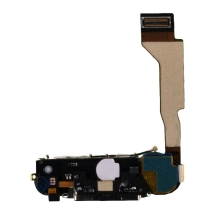 Flex Cable (Charge Port & Loud Speaker Assembly) for Apple iPhone 4 (CDMA) (Black) (Closeout)