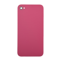 Back Glass with Frame for Apple iPhone 4S (Pink) (Closeout)