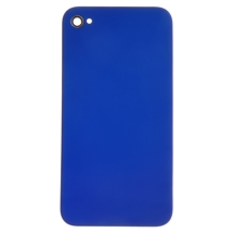 Door with Frame for Apple iPhone 4 (GSM) (Metallic Dark Blue) (Closeout)