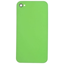 Back Door with Frame for Apple iPhone 4S (Lime Green) (Closeout)