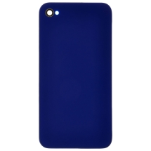 Back Door with Frame for Apple iPhone 4S (Dark Blue) (Closeout)