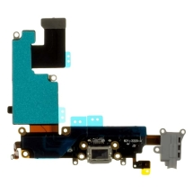 Flex Cable (Charge Port, Mic, Headphone Jack, & Antenna) for Apple iPhone 6 Plus (Gray)