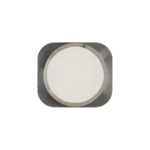 Cosmetic Home Button for Apple iPhone 5S & SE (1st Gen) (White & Silver) (Closeout)
