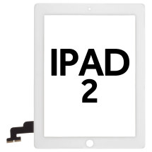 Digitizer (Adhesive & No Home Button) for Apple iPad 2 (White) (Premium)