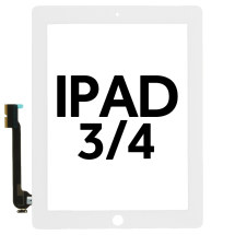Digitizer for Apple iPad 3, 4 (White) (Premium)