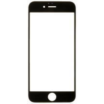 2in1 Glass Lens with OCA for Apple iPhone 6 (Black) (Closeout)