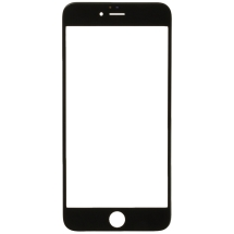 2in1 Glass Lens with OCA for Apple iPhone 6S Plus (Black) (Closeout)