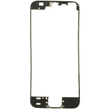 Lens Frame with Pre-Applied Hot Glue for Apple iPhone 5S & SE (Black) (Closeout)