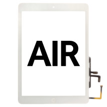 Digitizer (Home Button) for Apple iPad Air (White)