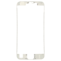 Lens Frame with Pre-Applied Hot Glue for Apple iPhone 6S (White) (Closeout)