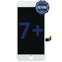 LCD, Digitizer, & Frame Assembly for Apple iPhone 7 Plus (White) (Refurbished)