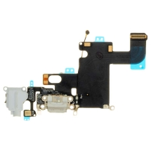 Flex Cable (Charge Port & Headphone Jack Assembly) for Apple iPhone 6 (Light Gray)
