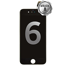 LCD, Digitizer & Frame Assembly for Apple iPhone 6 (Black) (Grade A)