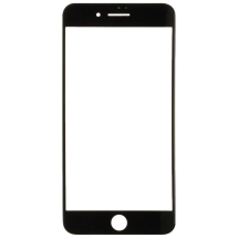 Lens with Pre-Applied OCA Sheet for Apple iPhone 7 Plus & 8 Plus (Black) (Closeout)