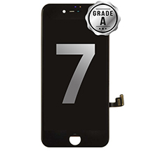 LCD, Digitizer & Frame Assembly for Apple iPhone 7 (Black) (Grade A)