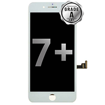 LCD, Digitizer & Frame Assembly for Apple iPhone 7 Plus (White) (Grade A)