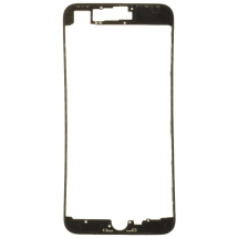Lens Frame with Pre-Applied Hot Glue for Apple iPhone 8 Plus (Black)