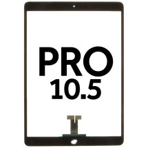 Digitizer (Adhesive & No Home Button) for Apple iPad Pro 10.5 (Black)