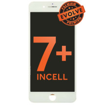LCD, Digitizer, & Frame Assembly for Apple iPhone 7 Plus (White) (Premium Evolve Incell)