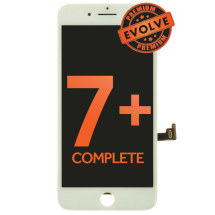 Complete LCD, Digitizer, & Frame Assembly for Apple iPhone 7 Plus (White) (Premium Evolve)