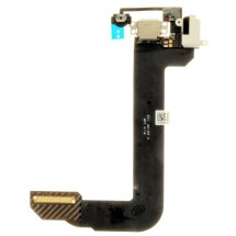 Flex Cable (Charge Port, Headphone Jack, & Home Button) for Apple iPod Touch 6th Gen (White)