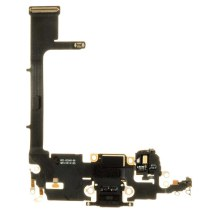 Flex Cable (Charge Port Assembly with Board) for Apple iPhone 11 Pro (Black)