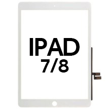 Digitizer (No Adhesive & No Home Button) for Apple iPad 7 (2019) & 8 (2020) (White)