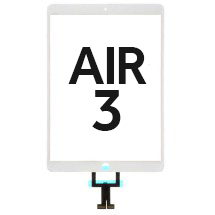 Digitizer (No Home Button) for Apple iPad Air 3 (White) (FOG)