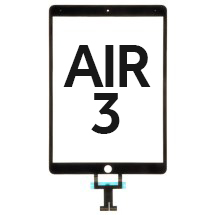 Digitizer (No Home Button) for Apple iPad Air 3 (Black) (Premium)