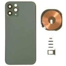 Housing (Back Glass, Frame, Wireless Charging Coil, & Small Components) for Apple iPhone 11 Pro (Midnight Green)