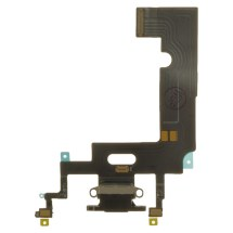 Flex Cable (Charge Port Assembly) for Apple iPhone XR (Black) (Premium)
