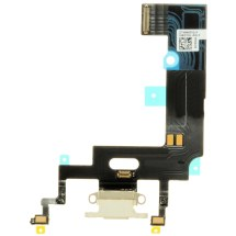 Flex Cable (Charge Port) for Apple iPhone XR (White) (Premium)
