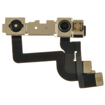 Camera Assembly (Front & Infrared) for Apple iPhone XR (Soldering Required)