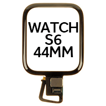 Digitizer for Apple Watch Series 6 (44mm) (Black)
