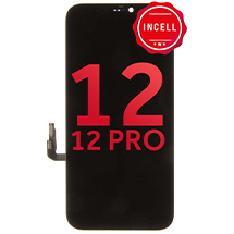 LCD, Digitizer, & Frame Assembly for Apple iPhone 12 & 12 Pro (Black) (Incell)