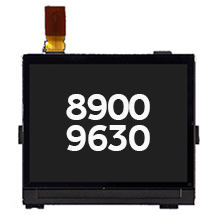 LCD (004/111) for BlackBerry 8900, 9630, Curve, Tour (Closeout)