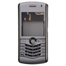 Housing (Complete) for BlackBerry 8130 Pearl (Silver) (Closeout)