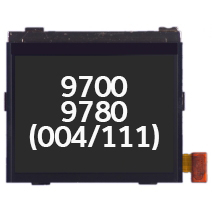 LCD (004/111) for BlackBerry 9700, 9780, Bold (Closeout)