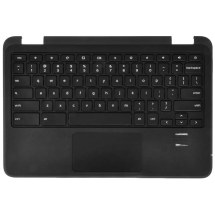 Palmrest, Touch Pad, & Keyboard Assembly for Dell Chromebook 3180 (Black)