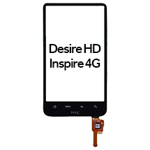 Digitizer for HTC Desire HD, Inspire 4G (Closeout)