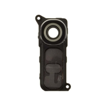 Glass Camera Lens with Bracket (Back) for LG G4 (Black) (Closeout)