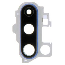 Glass Camera Lens with Bracket (Back) for OnePlus 8 Pro (Blue)