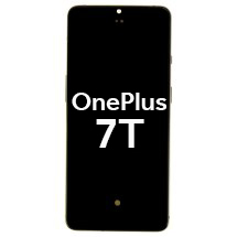 OLED, Digitizer, & Frame Assembly for OnePlus 7T (Silver)