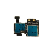 SIM Card & Memory Card Holder for Samsung Galaxy S4 SGH-I337 & SGH-M919 (AT&T & T-Mobile GSM)