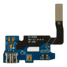 Charge Port Board for Samsung Galaxy Note II (International Rev 0.7) (Closeout)