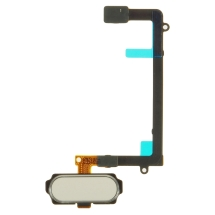 Flex Cable (with Home Button) for Samsung Galaxy S6 Edge (White) (Closeout)